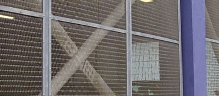 Guarding Wire Mesh Application