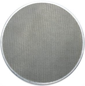 Wire mesh rim pack filter